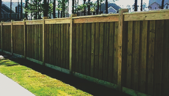 Wooden fences look great and are very popular in most homes in a residential neighborhood. A lot of people love a warm wood look and wood fencing gives lots of security and privacy to most properties.